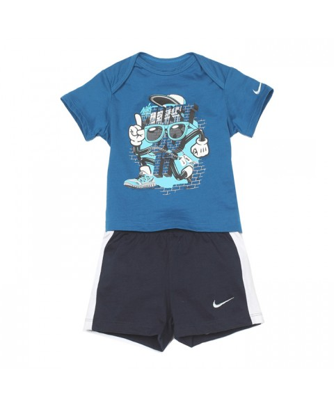 Nike Infant T-Shirt+Shorts Set (605748-417)