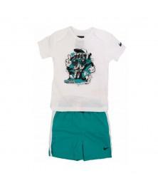 Nike INFANT T-SHIRT+SHORTS SET (605748-100)
