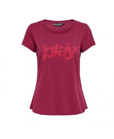 Only Play Electra Regular SS Tee Box (15175681-Beet Red)