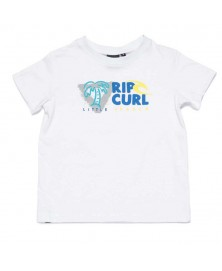 Rip Curl LET'S SURF SS TEE GROM (3262)